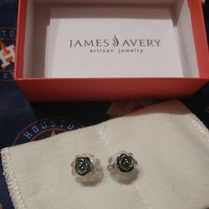 🌹 James Avery Rose Ear Posts 🌹